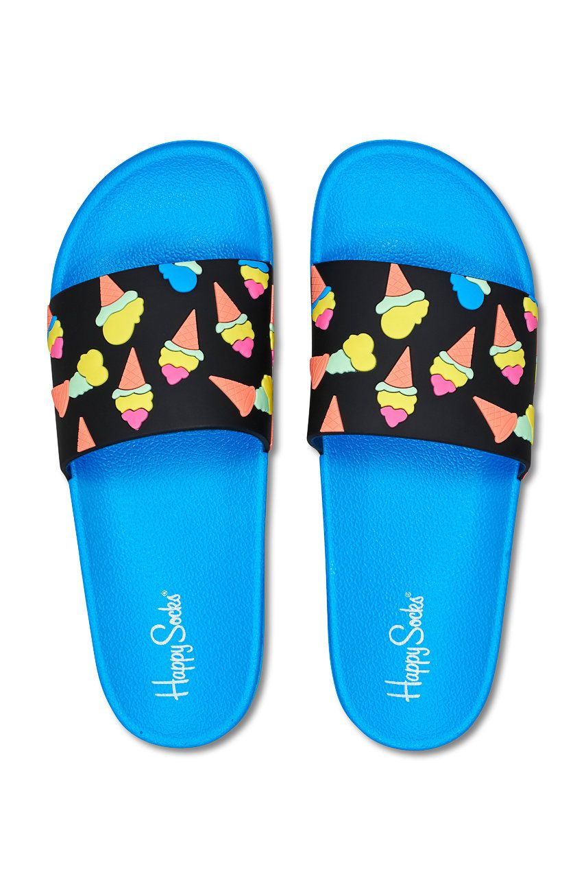 Happy Socks - Papuci Pool Slider Ice Cream