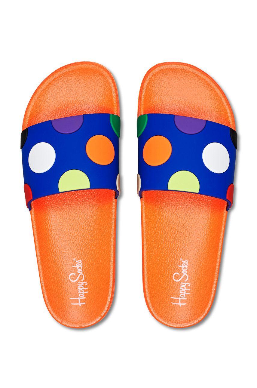 Happy Socks - Papuci Pool Slider Big Dot