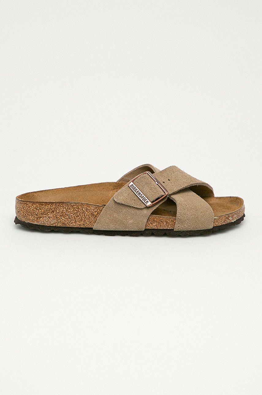 Birkenstock - Papuci din piele Siena