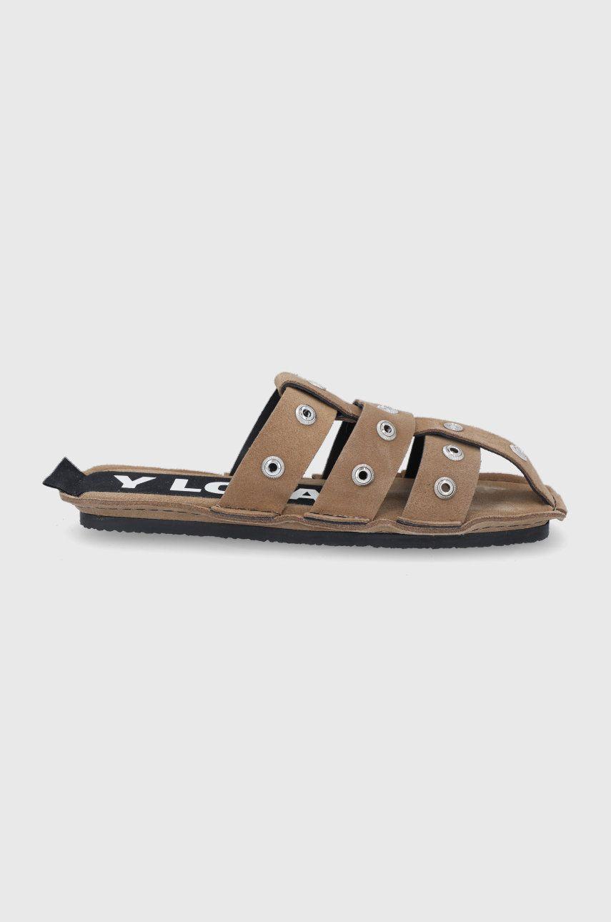 BIMBA Y LOLA - Papuci din piele