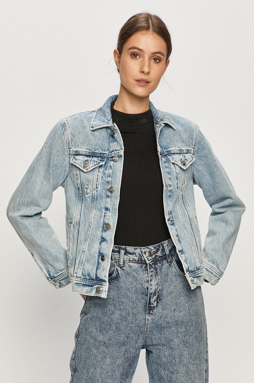 Pepe Jeans - Geaca jeans Rose Archive