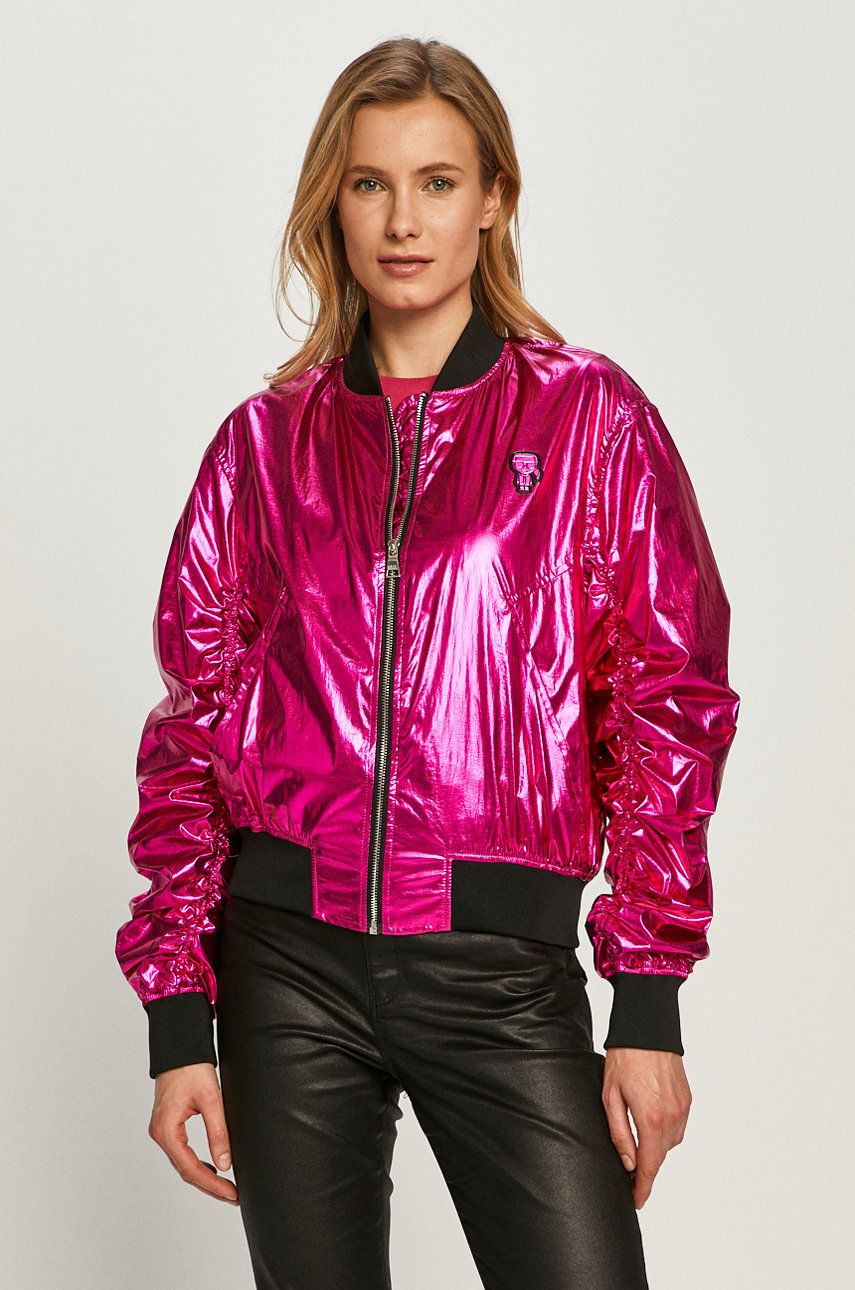 Karl Lagerfeld - Geaca bomber imagine
