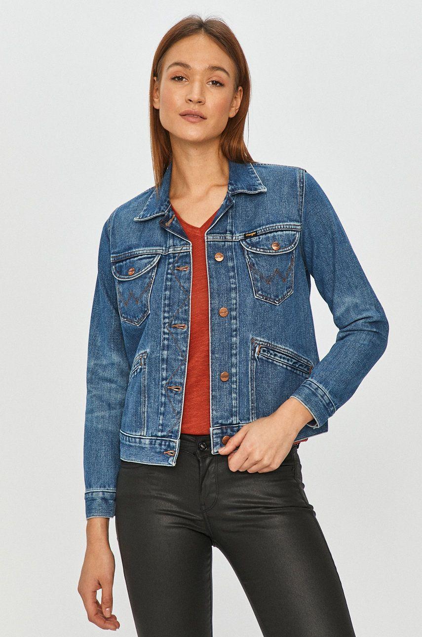 Wrangler - Geaca jeans imagine