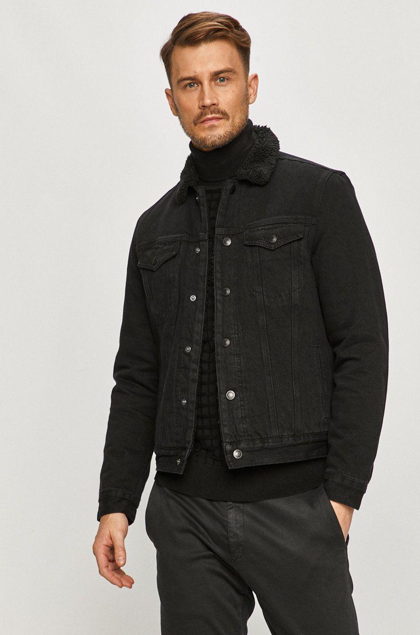 AllSaints - Geaca jeans imagine answear.ro