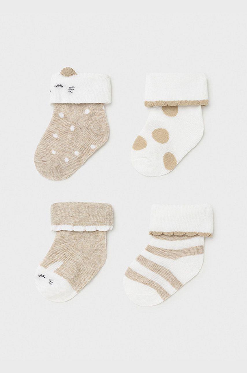 Mayoral Newborn - Detské ponožky (4-pak)