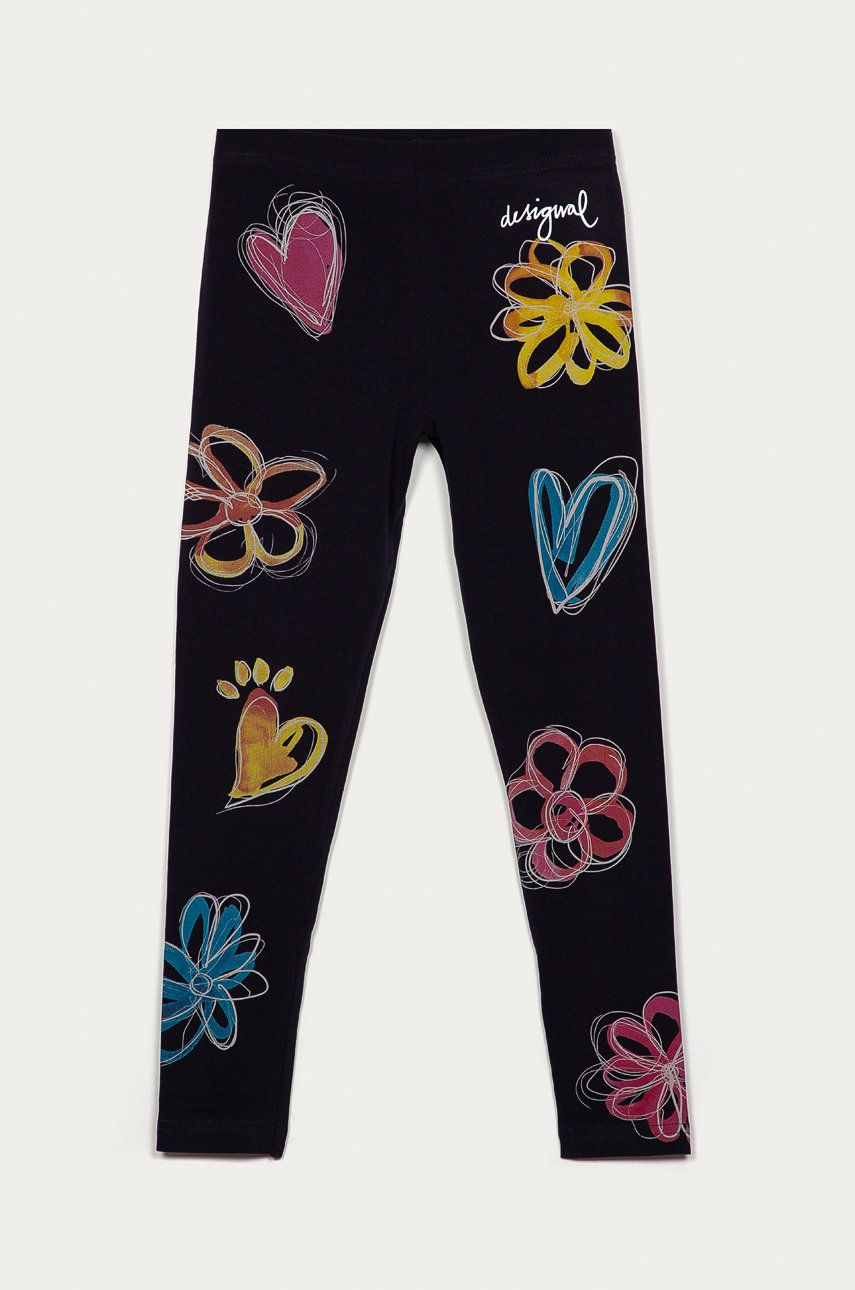 Desigual - Leggins copii imagine answear.ro 2021