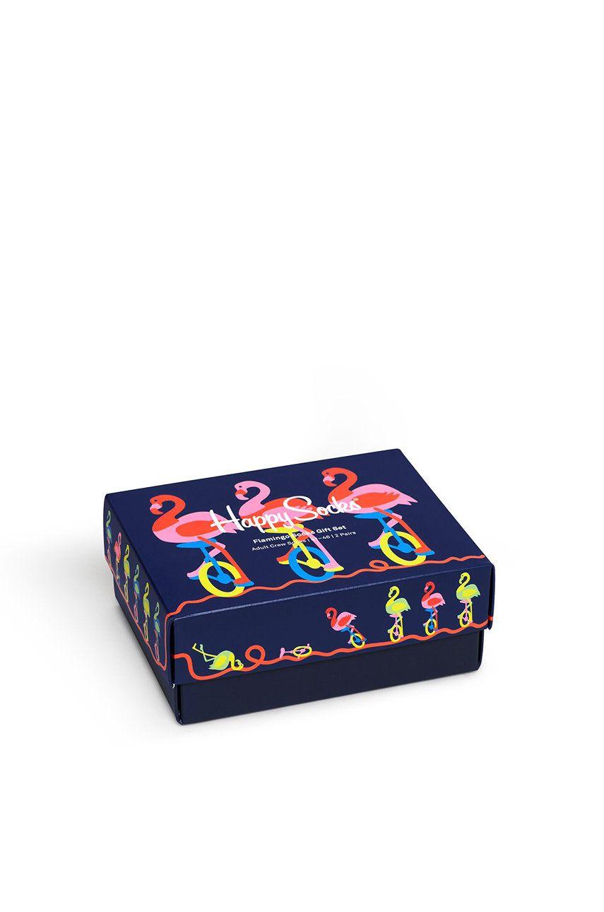 Happy Socks - Skarpetki Flamingo (2-pack)