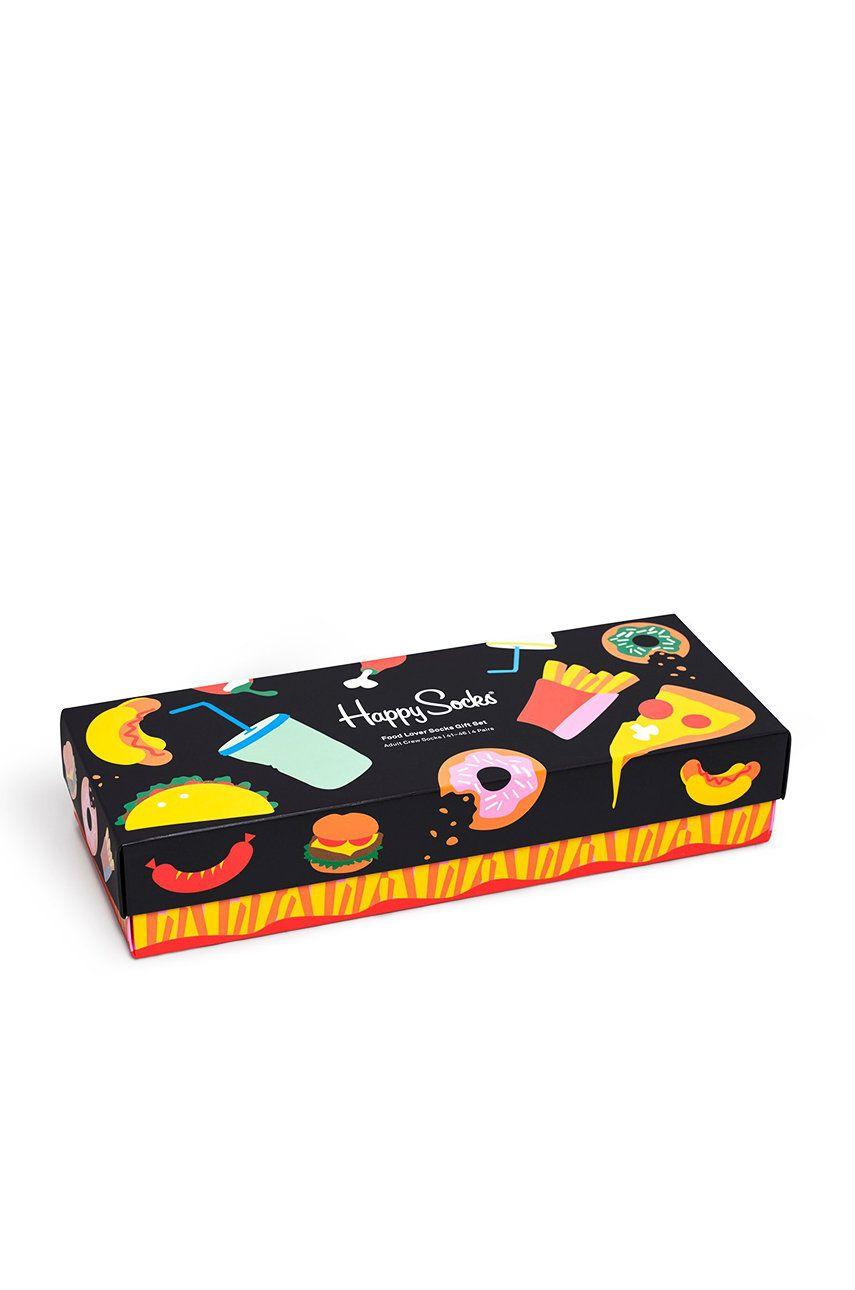 Happy Socks - Skarpetki Food Lover (4-pack)