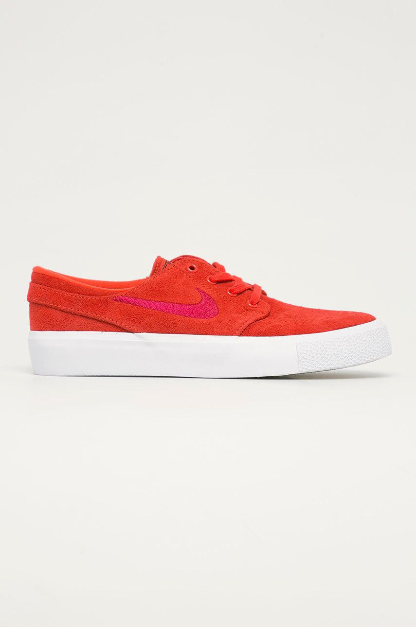 Nike Kids - Pantofi din piele intoarsa pentru copii SB Janoski imagine