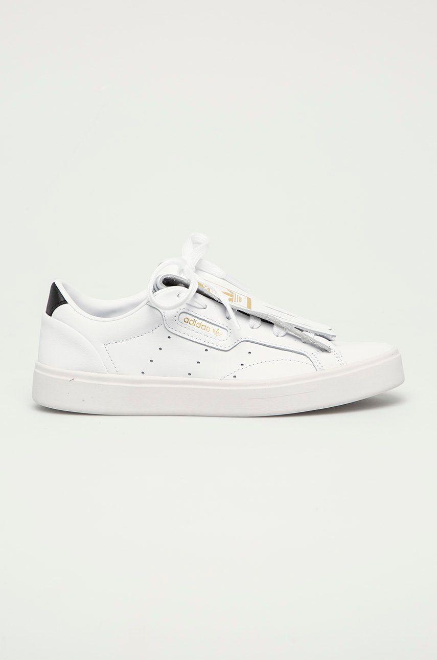 adidas Originals - Ghete de piele Sleek W imagine