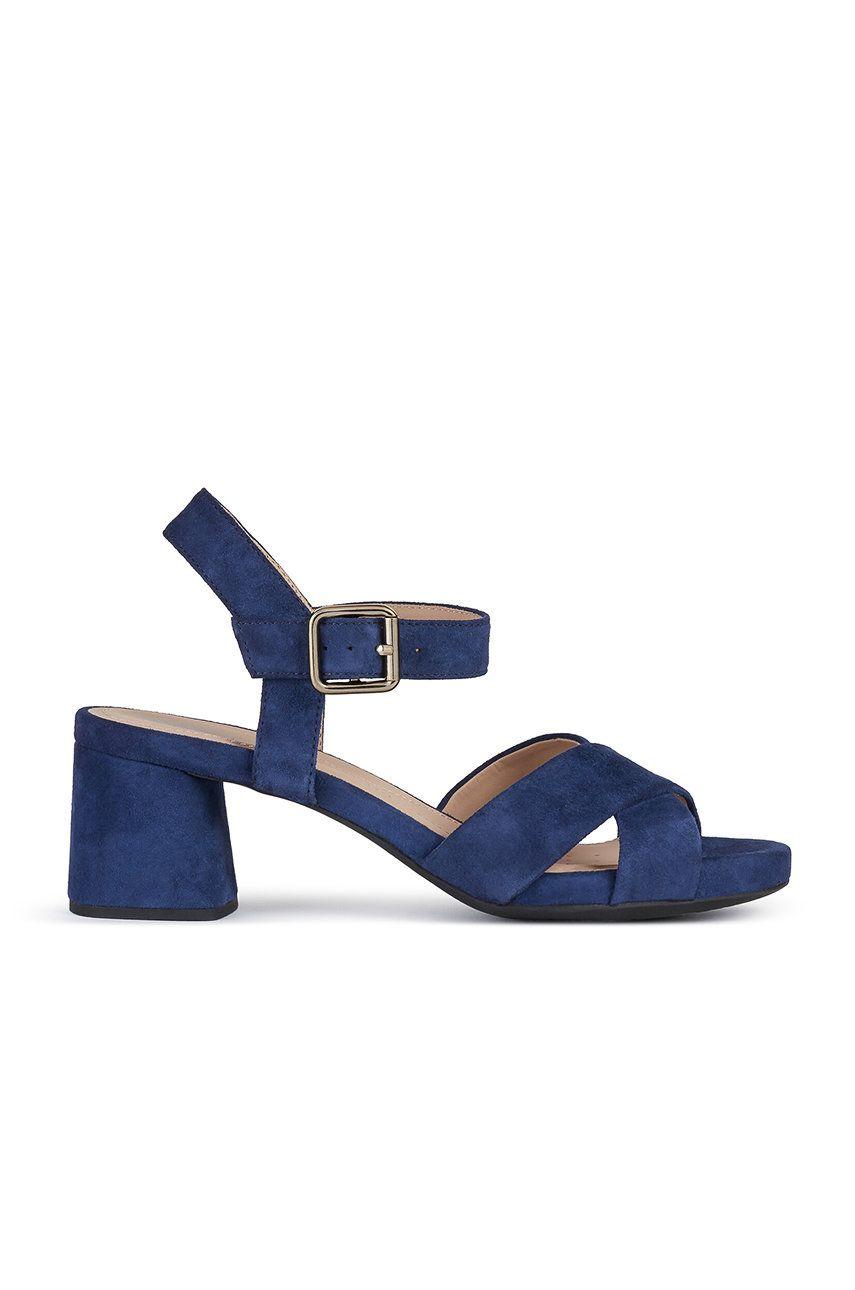 Geox - Sandale din piele intoarsa