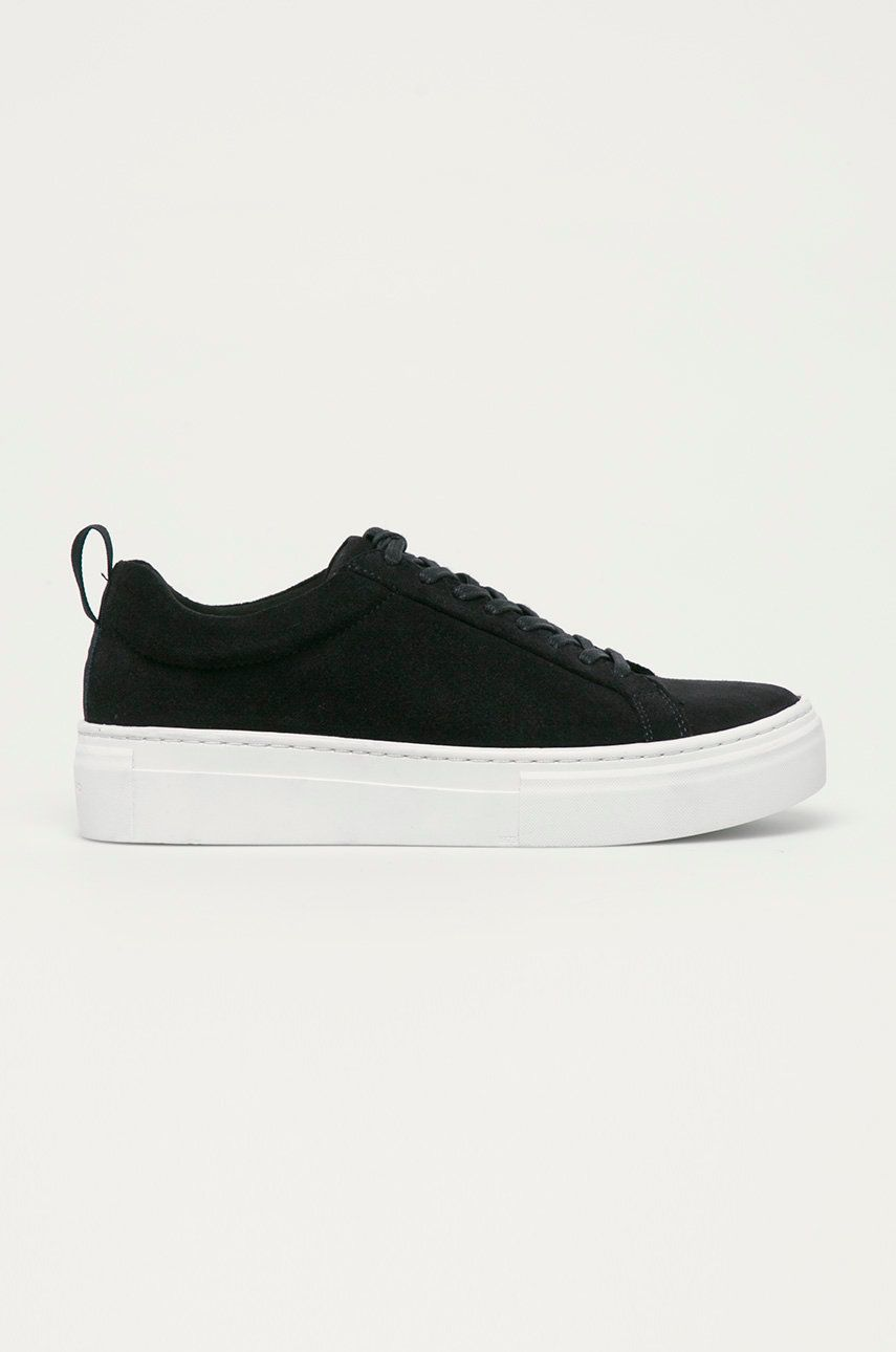 Vagabond - Pantofi de piele intoarsa Zoe Platform