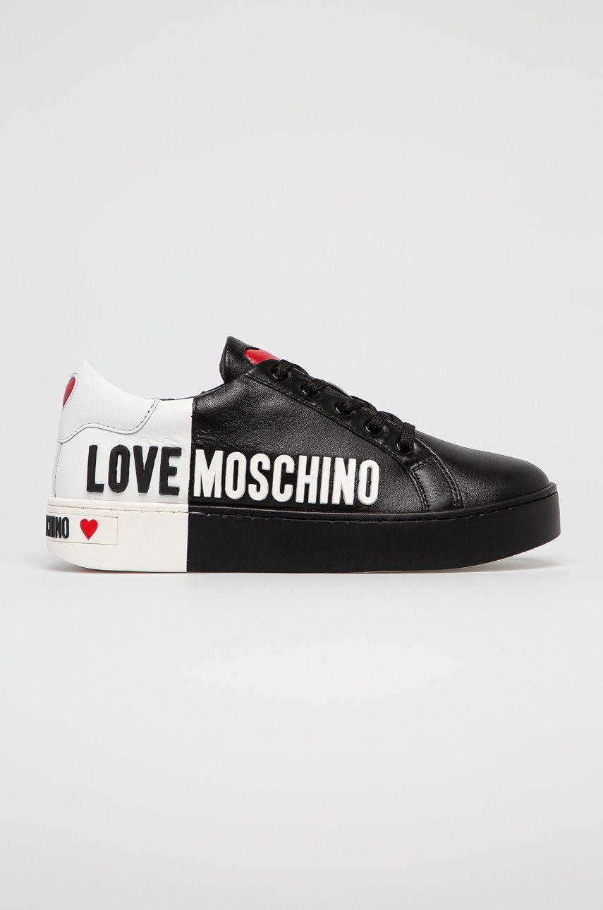Love Moschino - Ghete de piele imagine