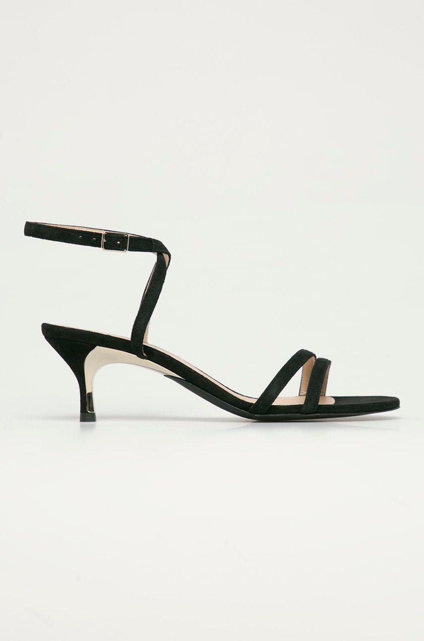 Furla - Sandale din piele intoarsa Code