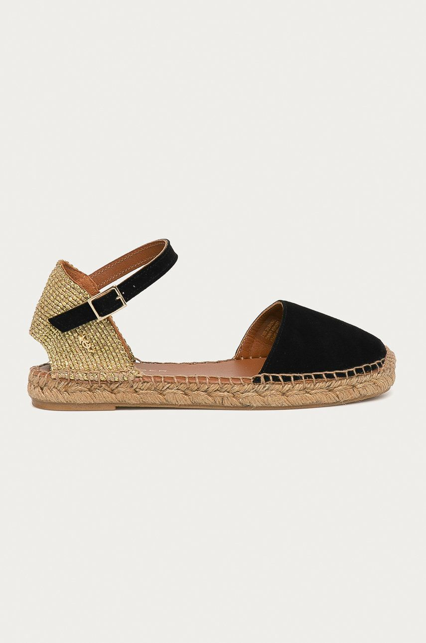 Kurt Geiger London - Espadrile din piele intoarsa Manty imagine