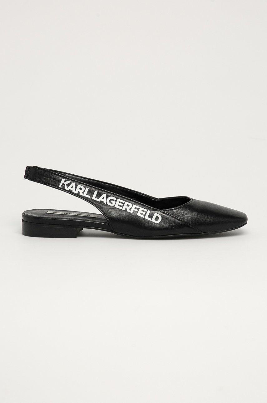 Karl Lagerfeld - Balerini de piele answear.ro