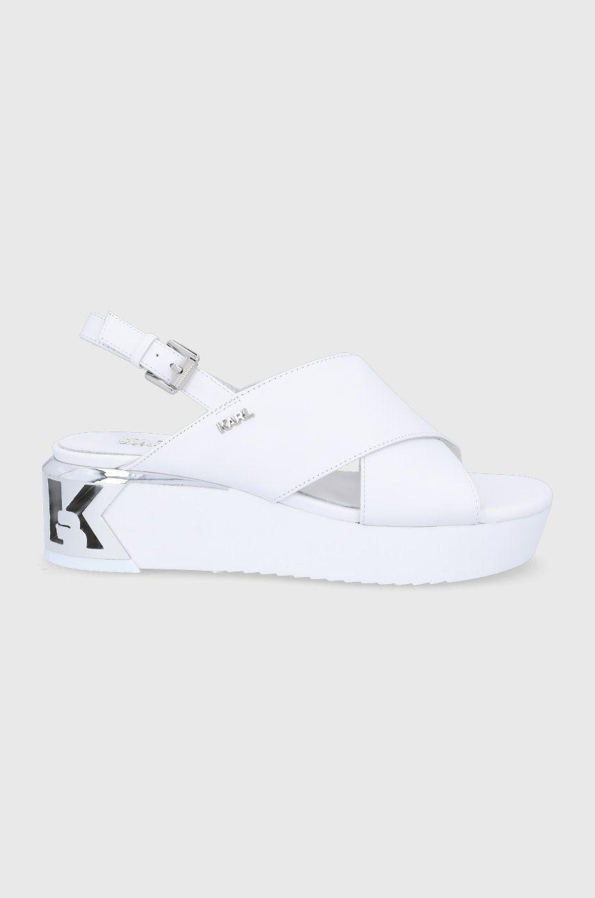 Karl Lagerfeld - Sandale de piele