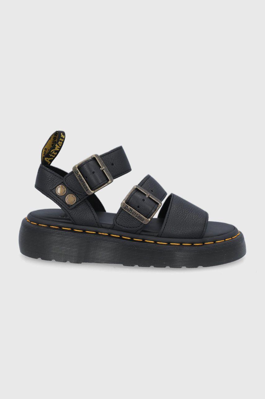 Dr. Martens - Kožené sandále Gryphon Quad