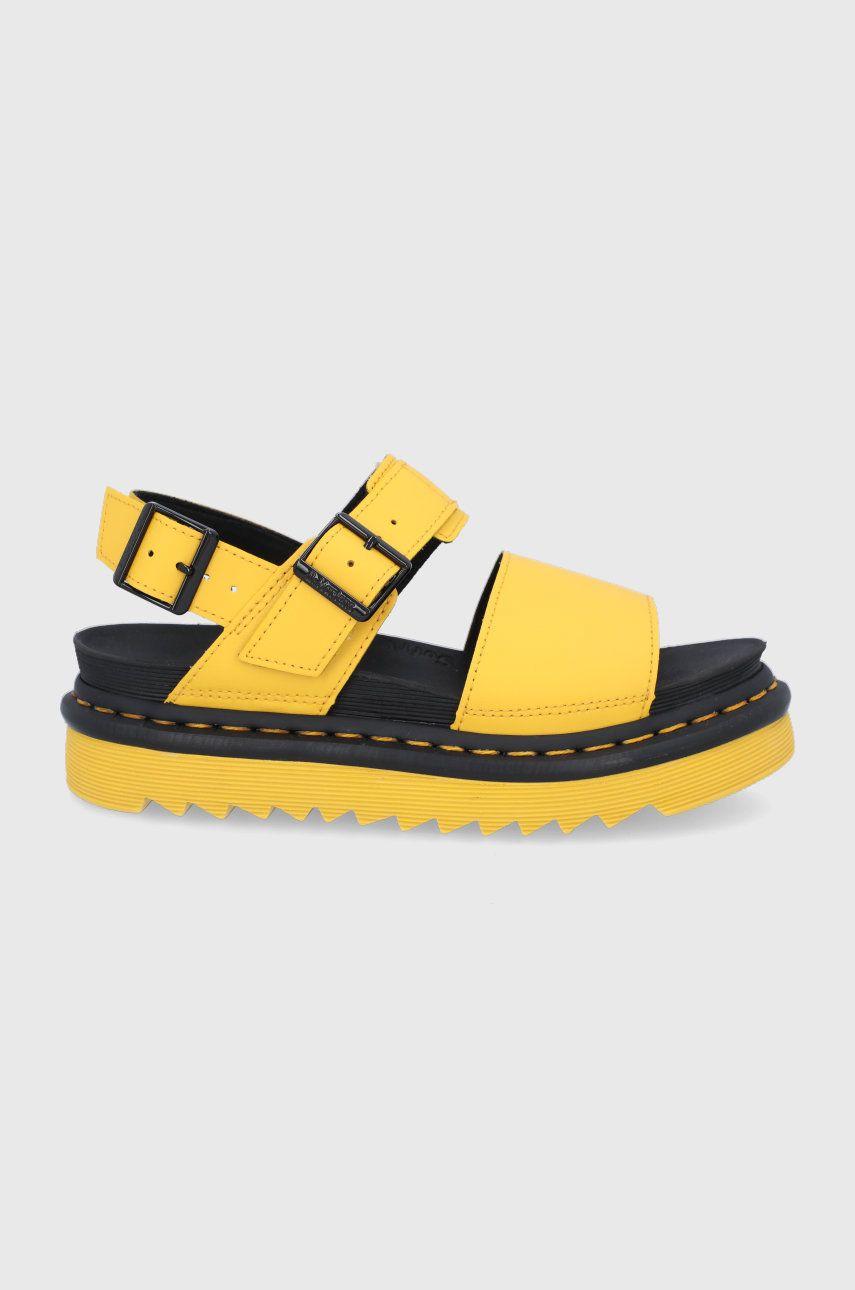 Dr. Martens - Kožené sandále Voss