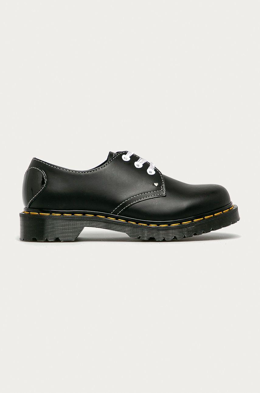 Dr. Martens - Pantofi de piele 1461 Hearts