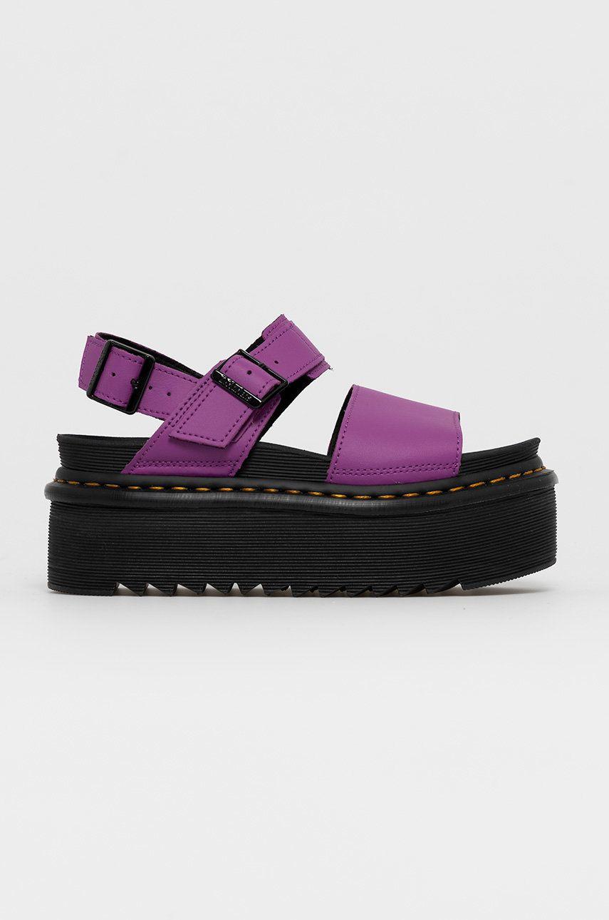 Dr. Martens - Kožené sandále Voss Quad