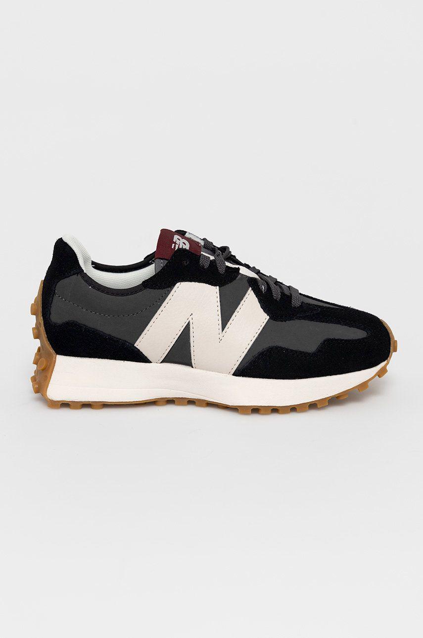 New Balance - Pantofi de piele intoarsa WS327KC