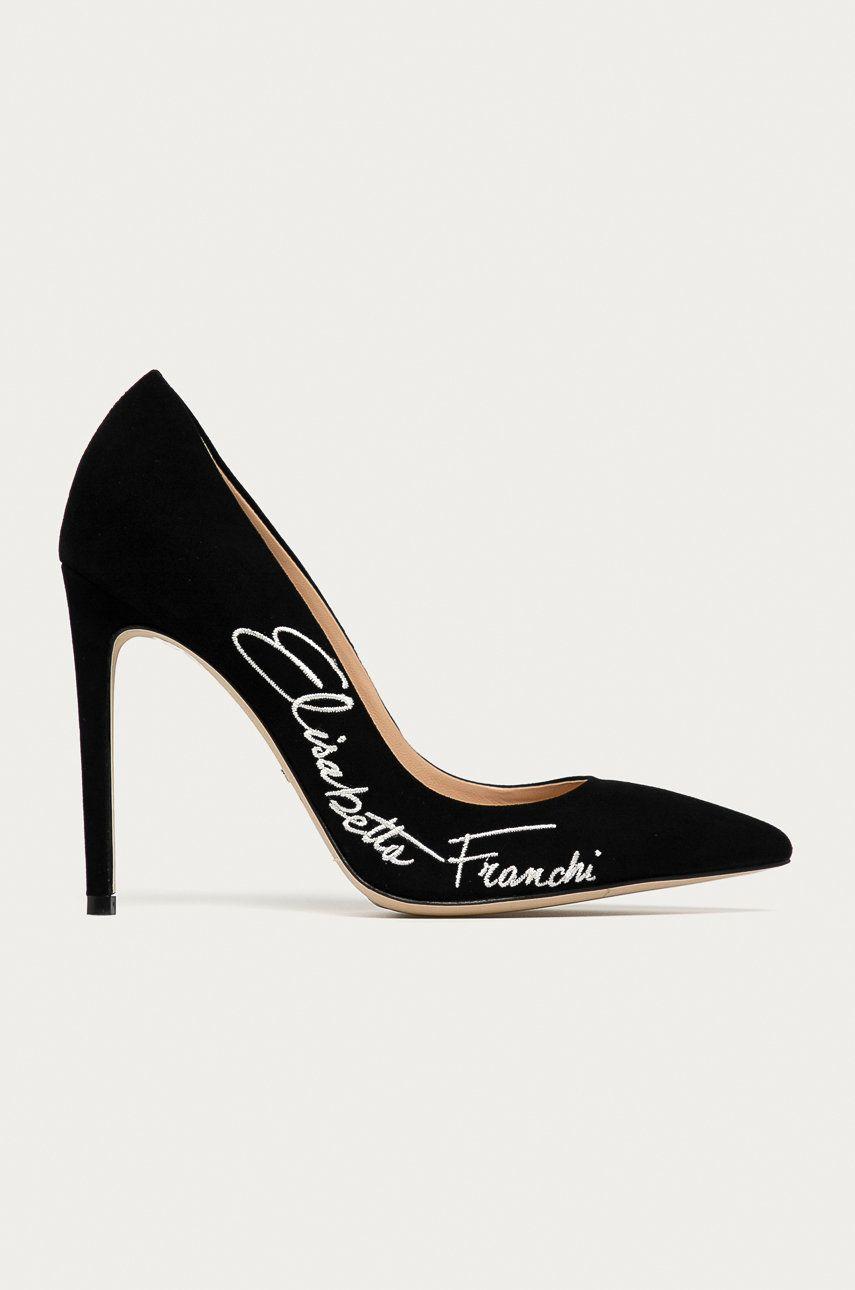 Elisabetta Franchi - Tocuri din piele intoarsa imagine