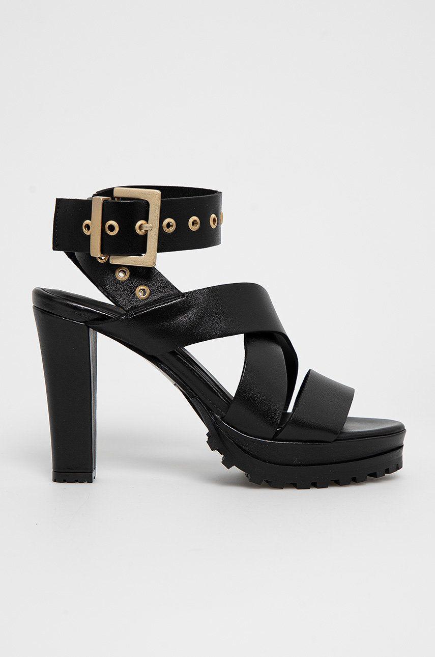 AllSaints - Sandale de piele