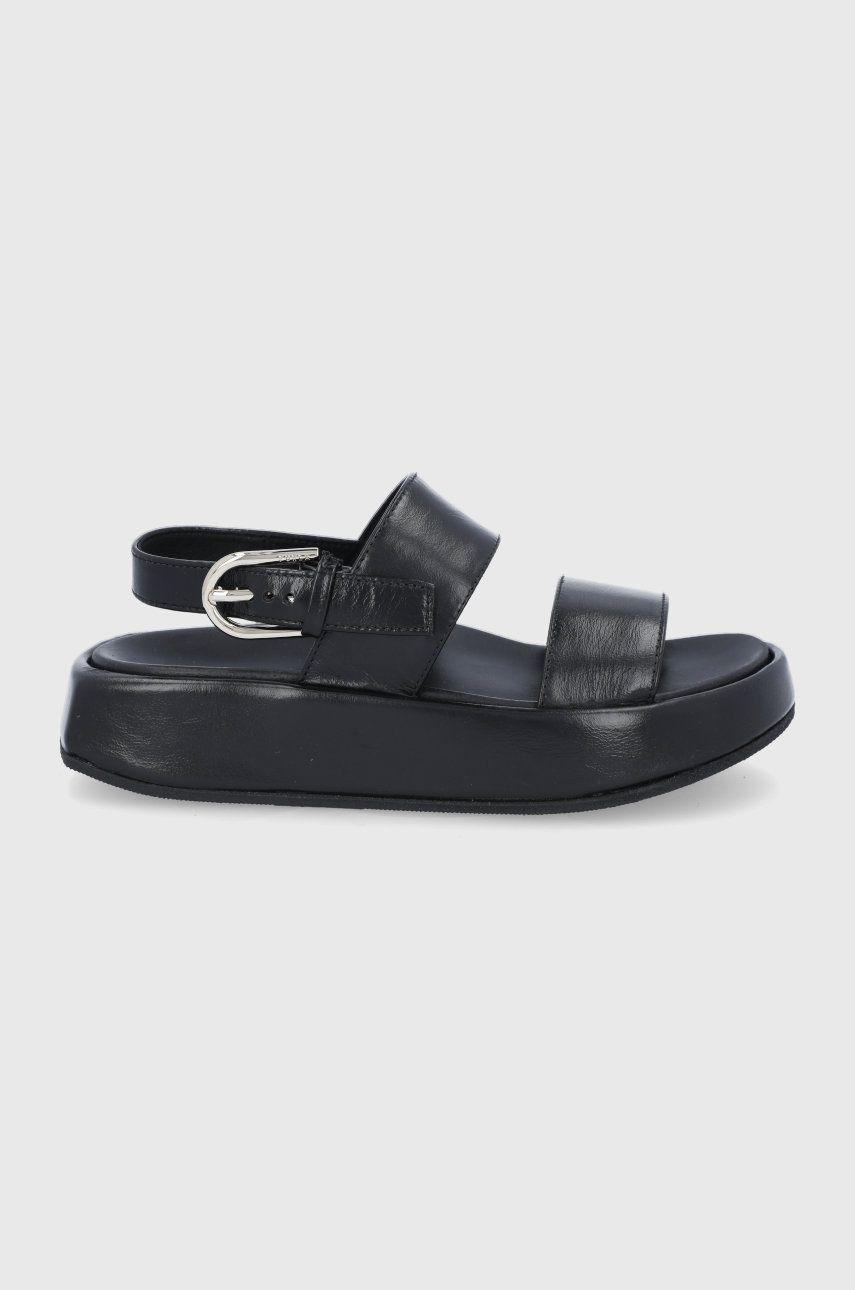 Furla - Sandale de piele Vernice