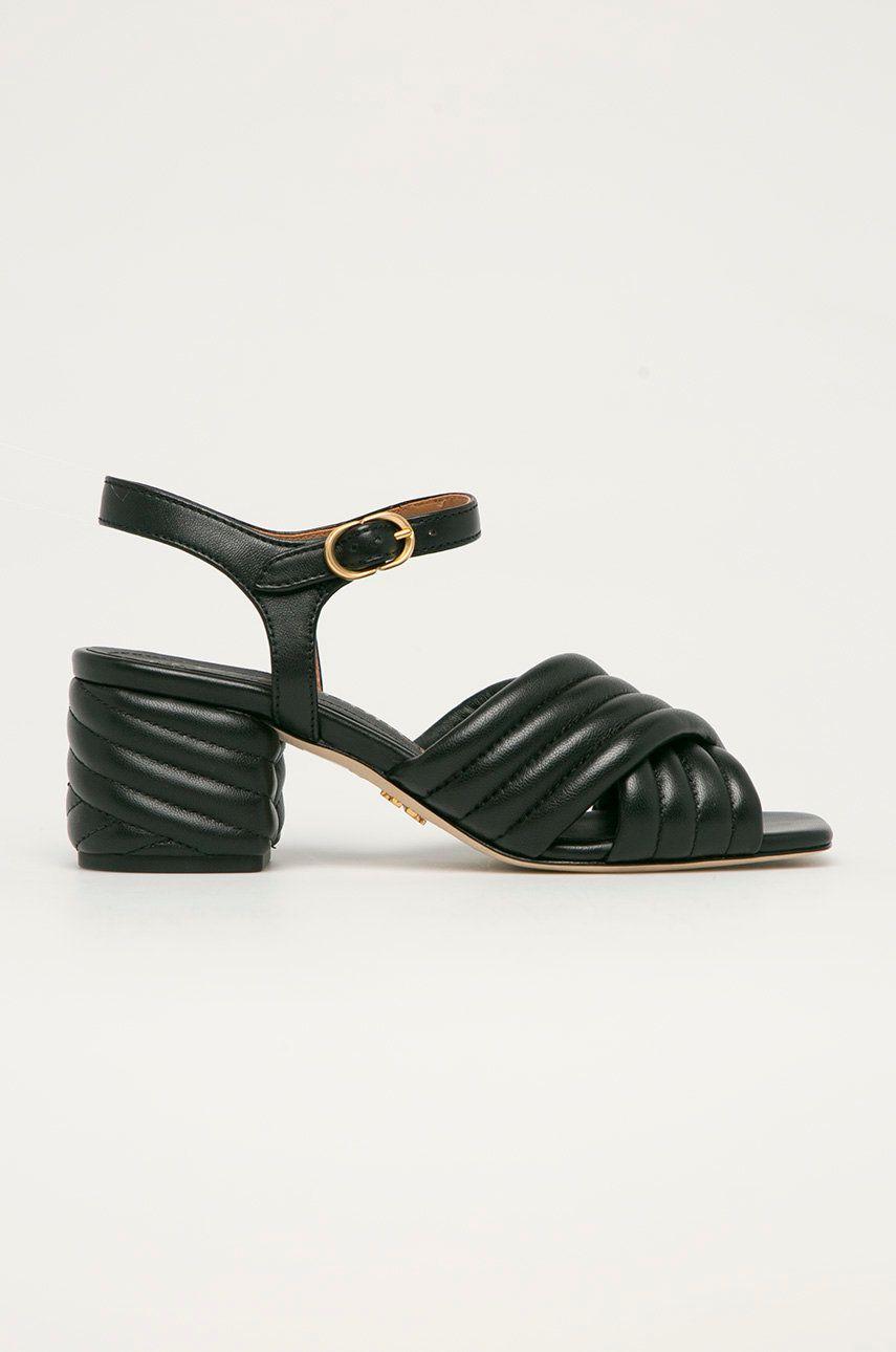 Tory Burch - Sandale de piele imagine answear.ro 2021