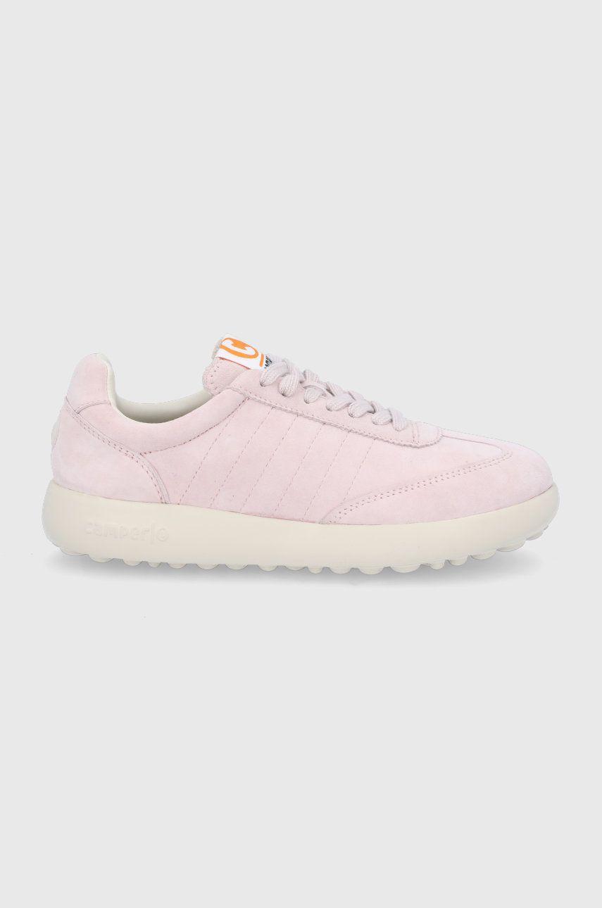 Camper - Pantofi de piele intoarsa Pelotas XLF