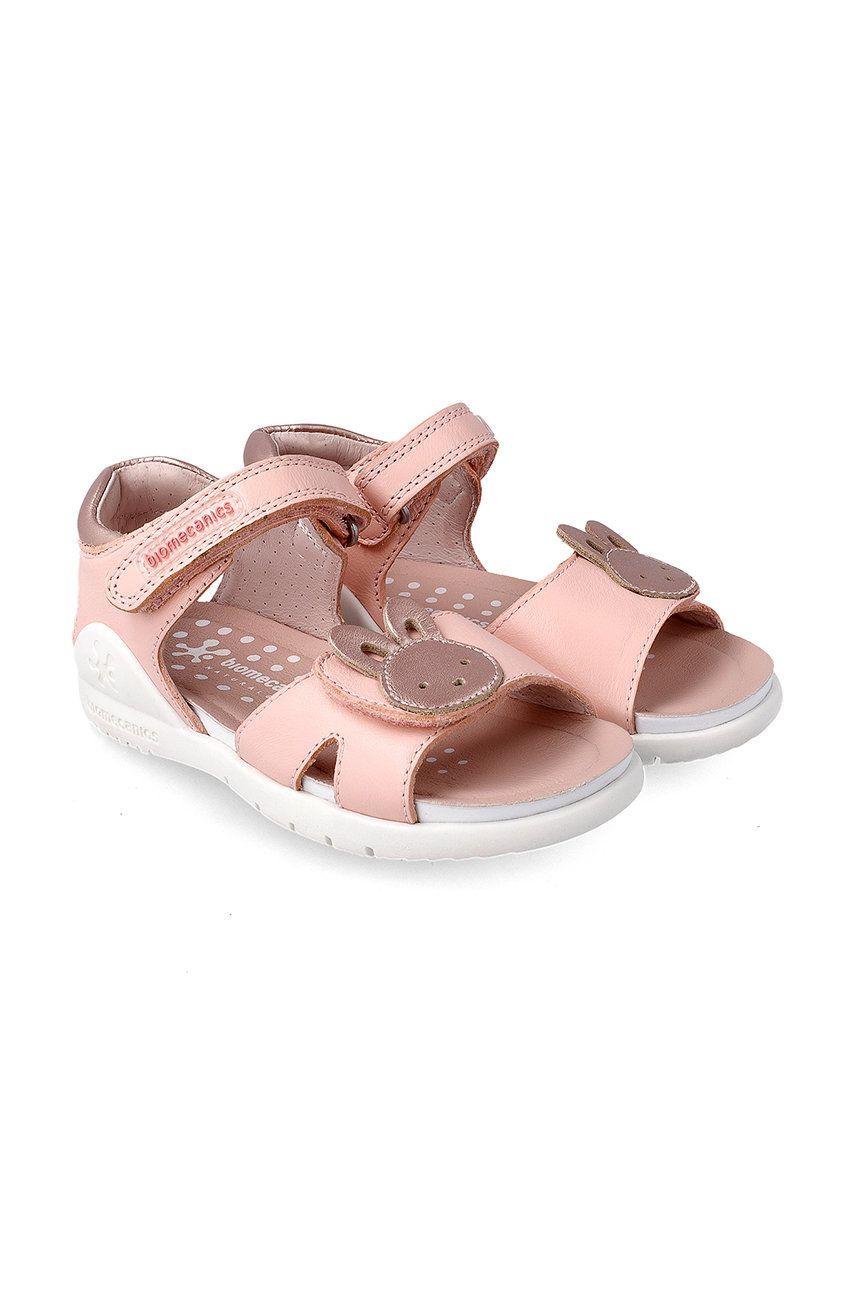 Biomecanics - Sandale din piele pentru copii imagine answear.ro 2021