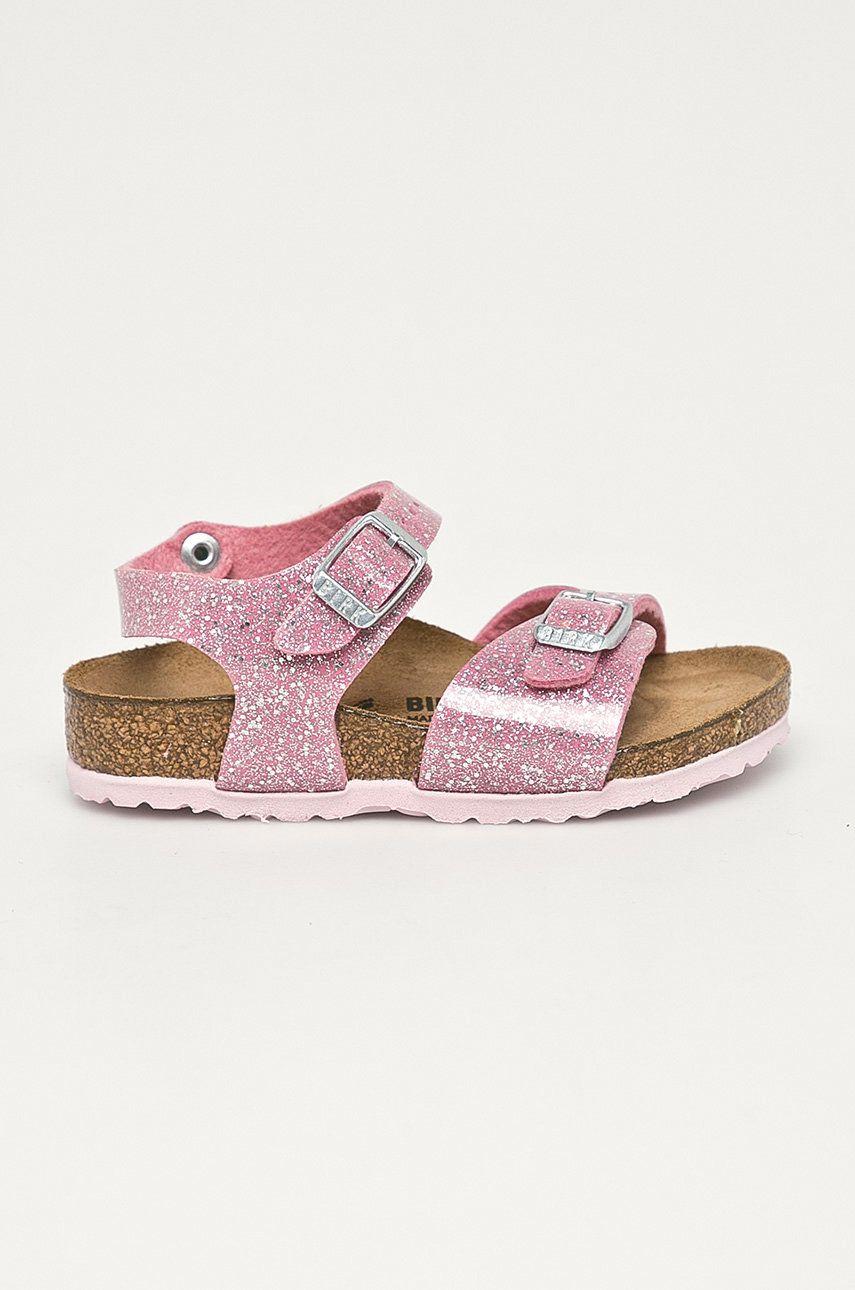 Birkenstock - Sandale din piele pentru copii Cosmic poza answear