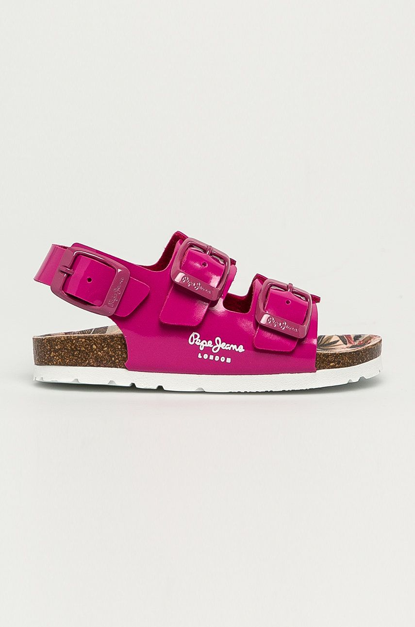 Pepe Jeans - Sandale copii Bio Basic Buckles answear.ro
