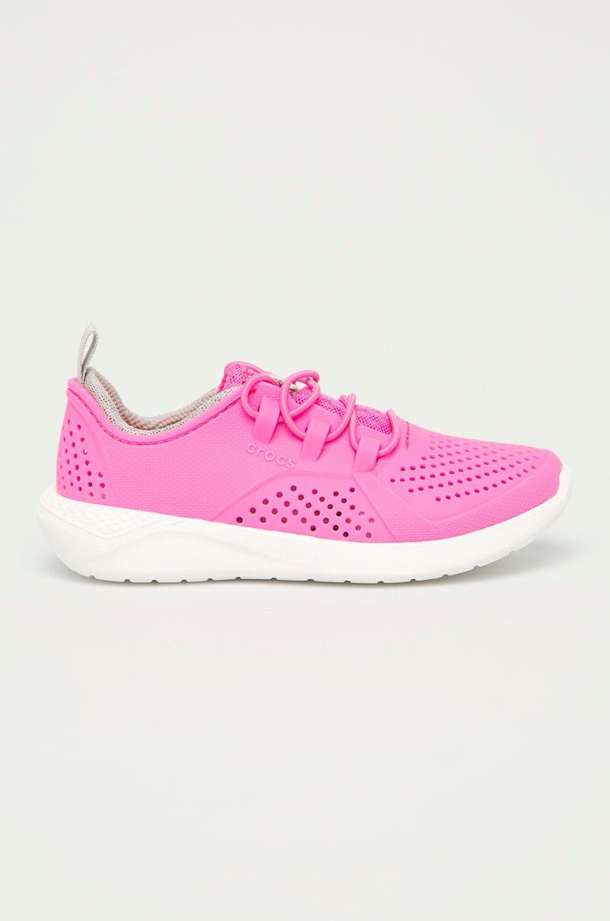 Crocs - Pantofi copii Lite Ride Pancer imagine answear.ro