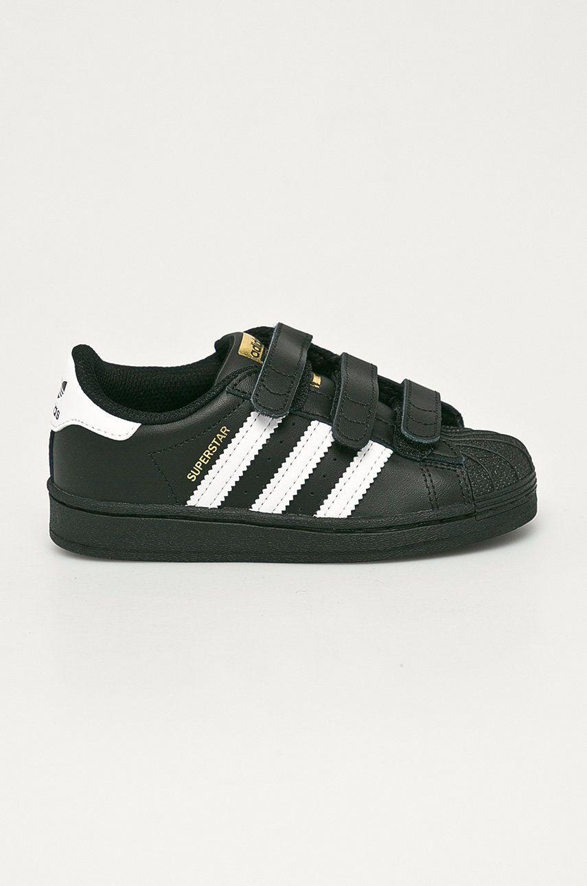 adidas Originals - Detské kožené topánky Superstar CF