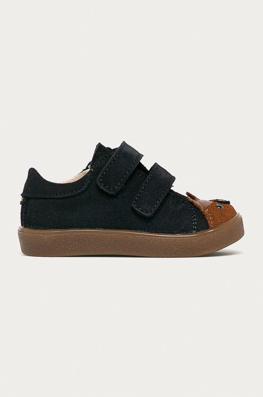 Mrugała - Pantofi din piele intoarsa pentru copii poza answear