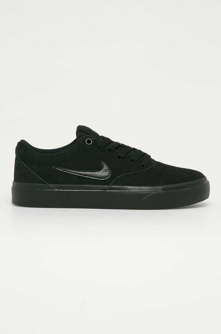 Nike Kids - Pantofi din piele intoarsa pentru copii SB Charge Suede imagine