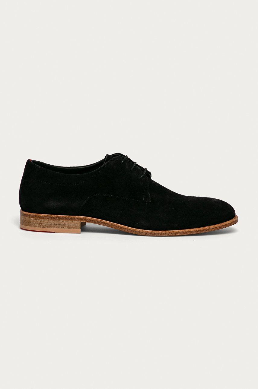 Hugo - Pantofi de piele intoarsa imagine