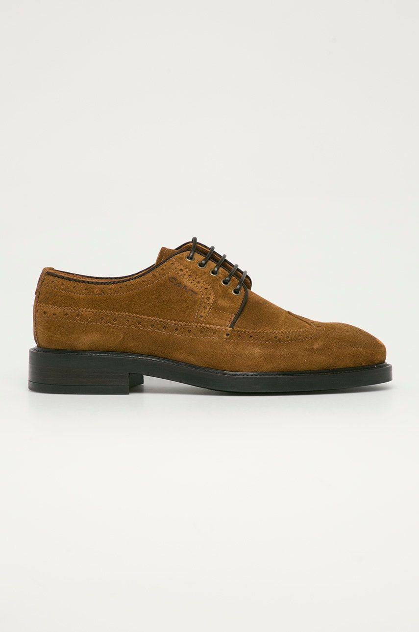 Gant - Pantofi de piele intoarsa Flairville imagine