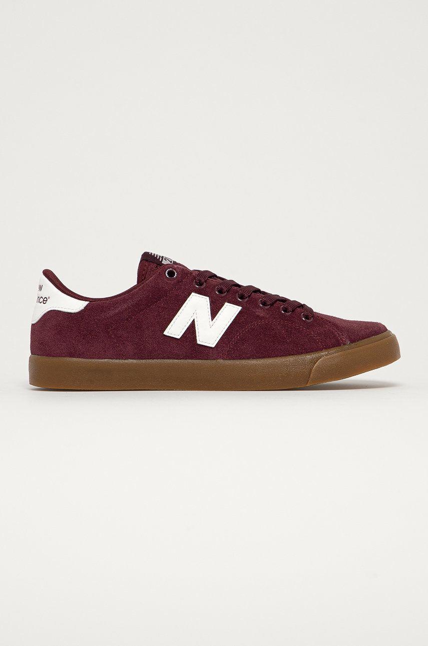 New Balance - Kožené tenisky AM210BYG