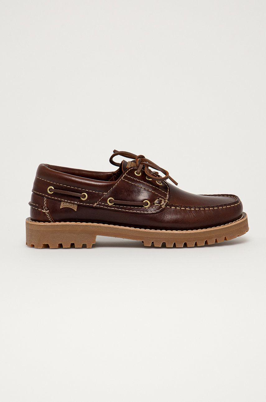 Camper - Pantofi de piele Nautico answear.ro
