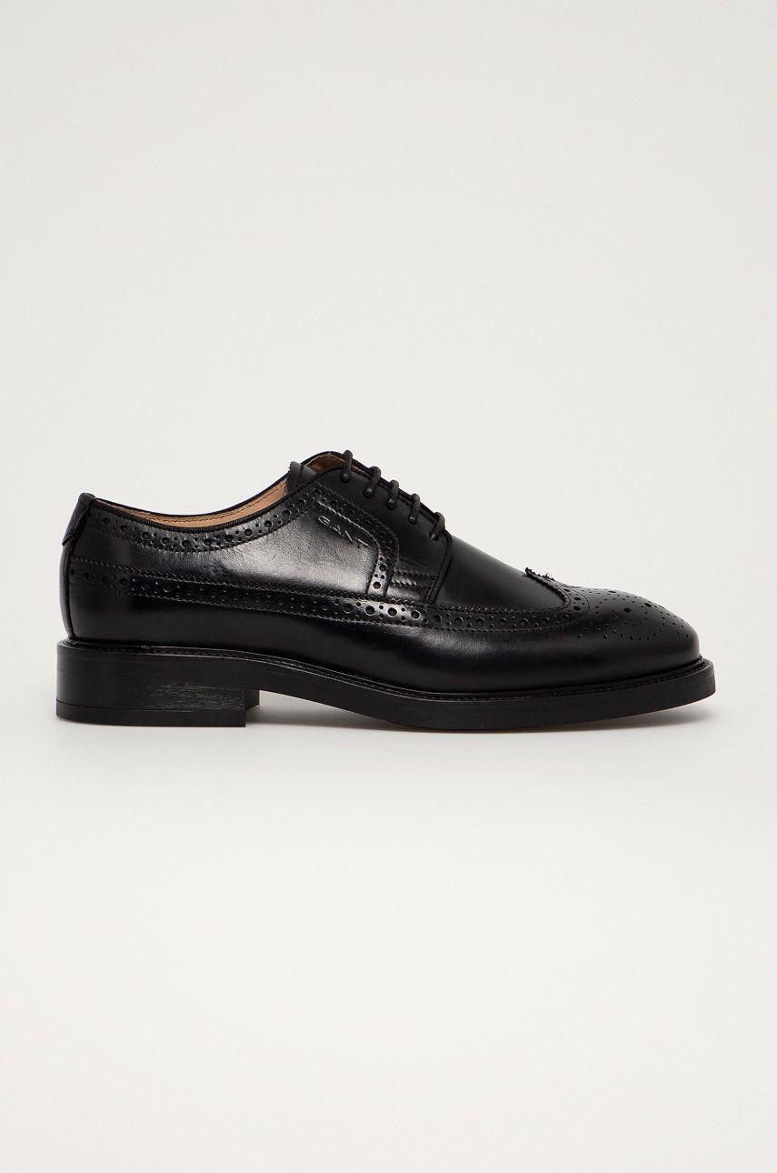 Gant - Pantofi de piele Flairville answear.ro