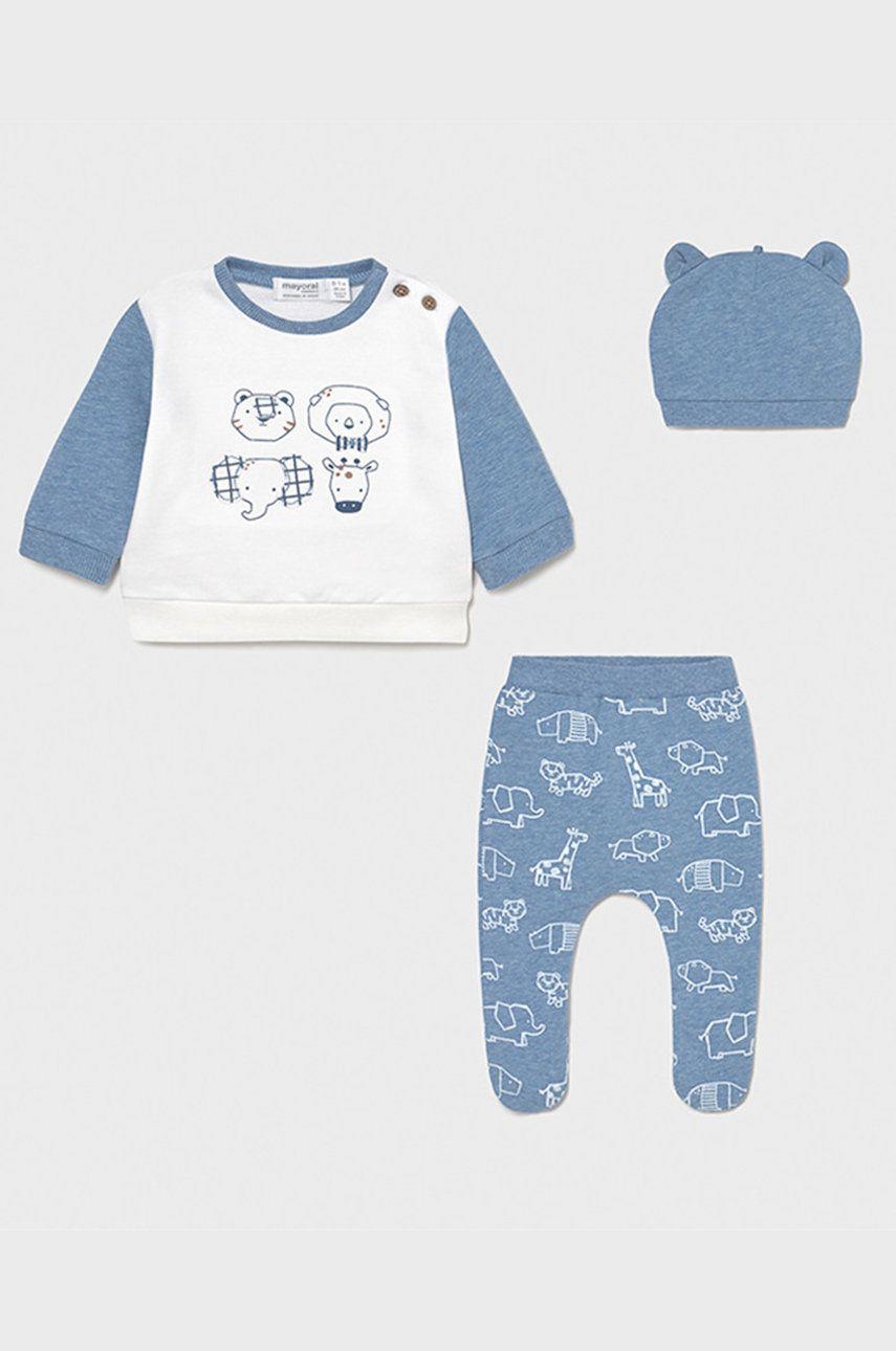 Mayoral Newborn - Compleu bebe imagine answear.ro 2021