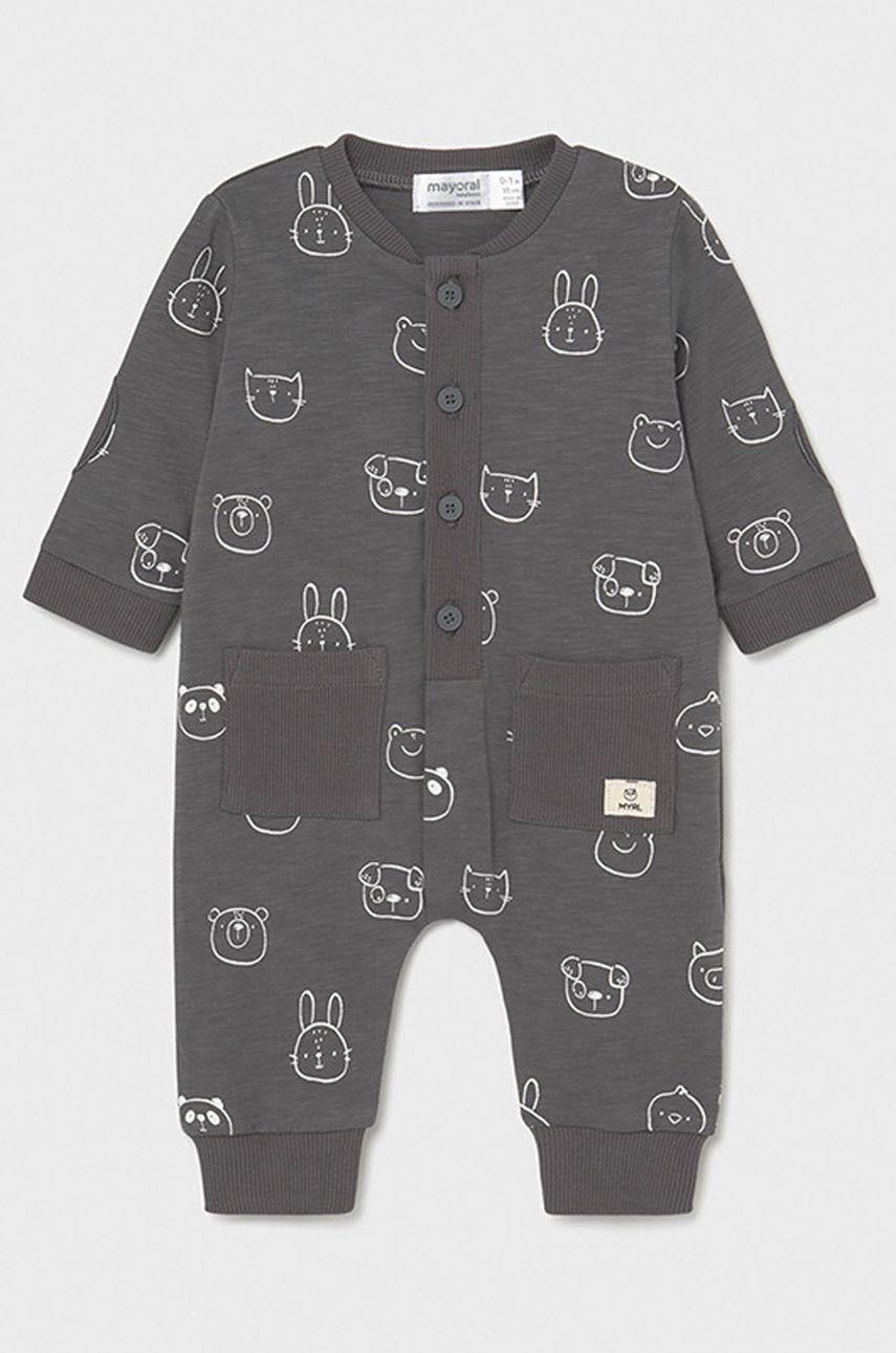 Mayoral Newborn - Costum bebe 55-86 cm imagine answear.ro 2021