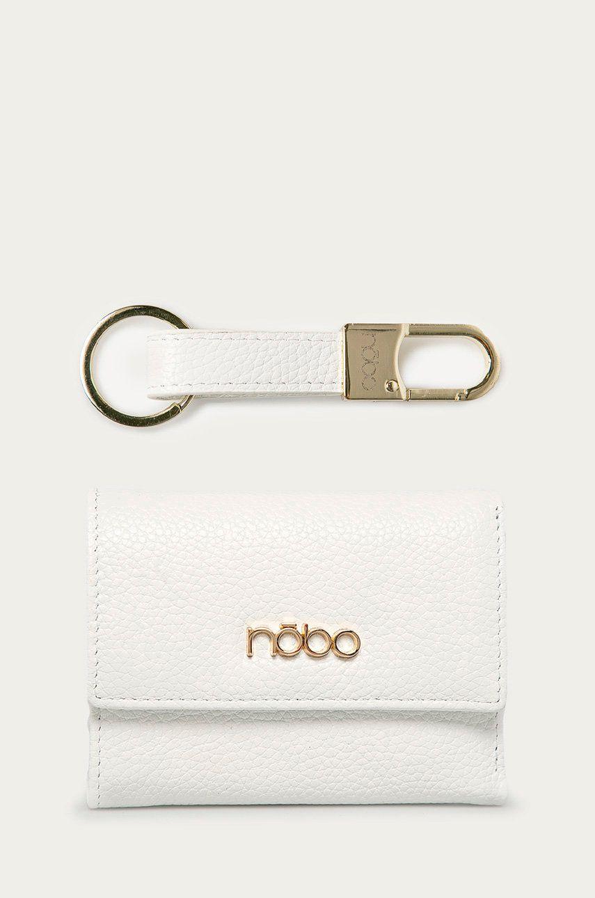 Nobo - Portofel de piele + breloc
