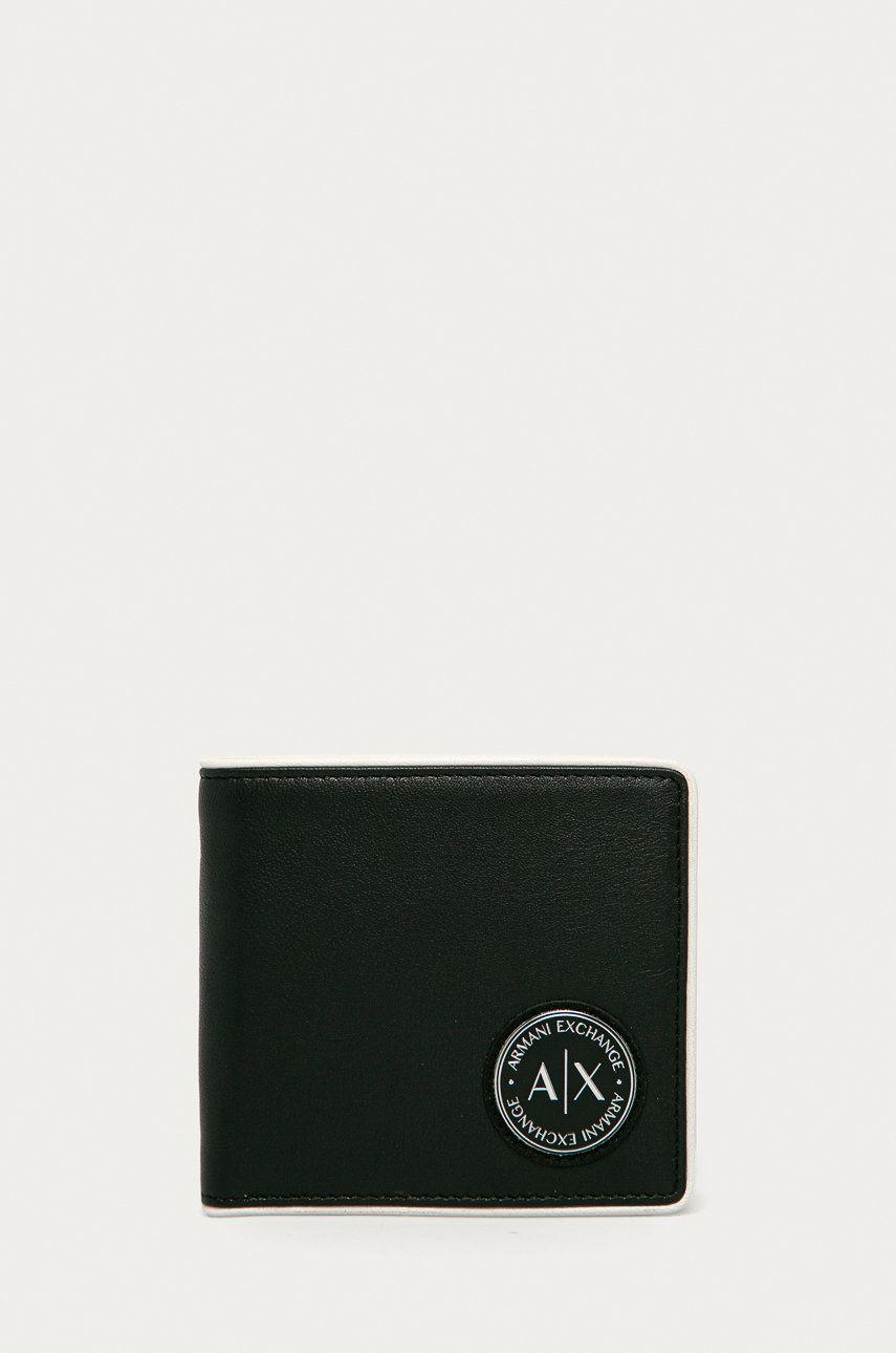 Armani Exchange - Portfel skórzany