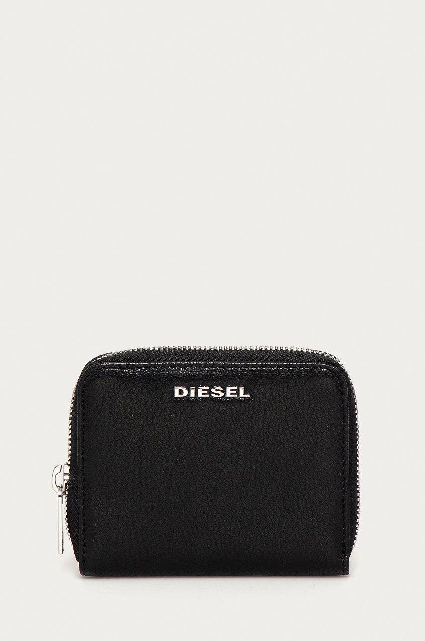Diesel - Portofel de piele answear.ro