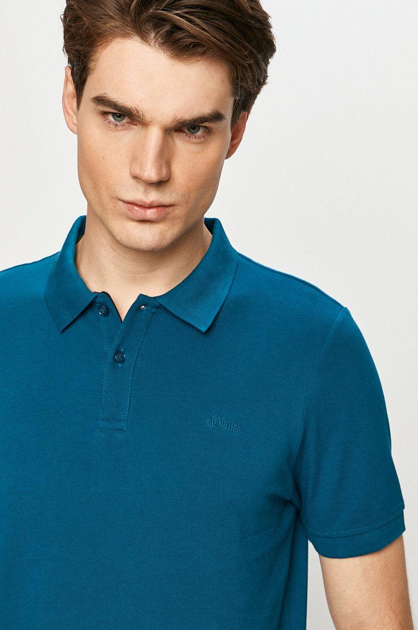 s. Oliver - Tricou Polo answear.ro