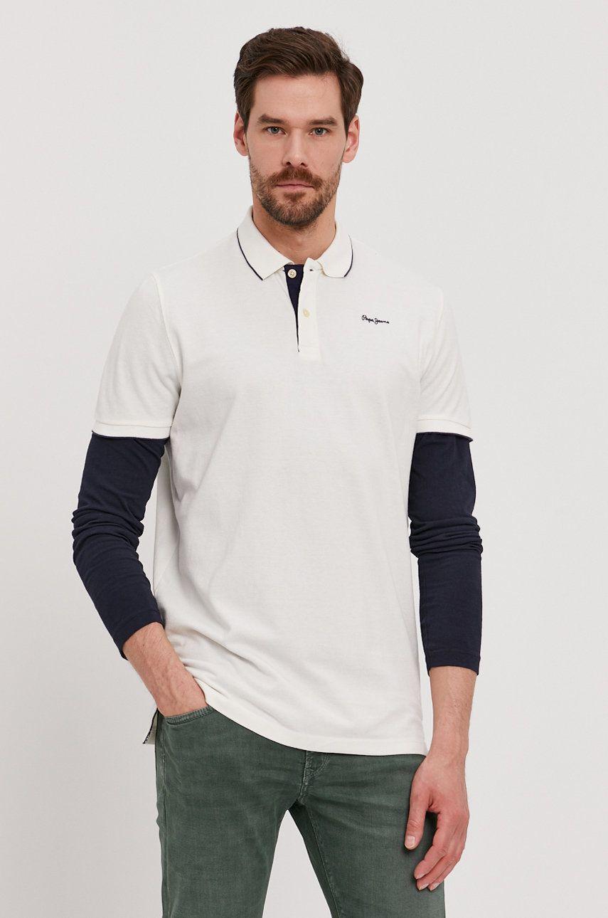 Pepe Jeans - Tricou Polo Lucas imagine answear.ro 2021